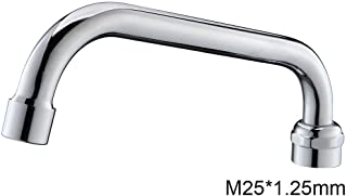 MSTJRY Swivel Spout 360 Degree for MSTJRY Commercial Faucet Only, with Chrome Finish 8 7/16