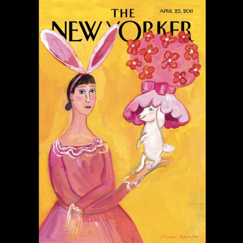 The New Yorker, April 25th 2011 (Ben McGrath, Burkhard Bilger, Thomas McGuane) cover art