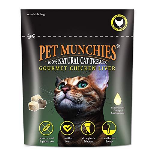Pet Munchies Cat Treats Gourmet Chicken Liver 8x10gm