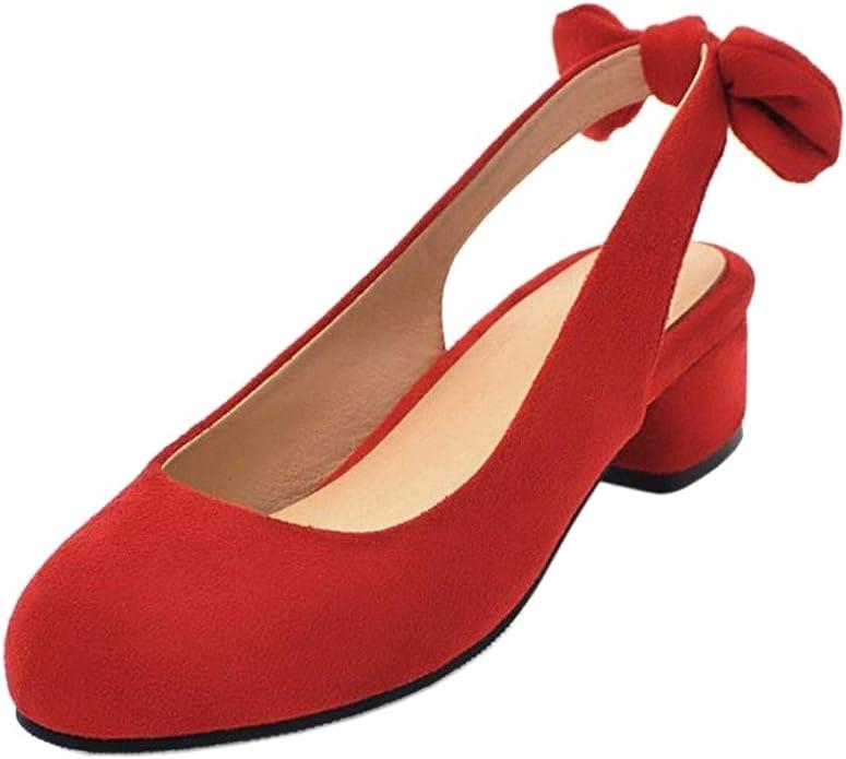 BeiaMina Women Fashion Flat Court Shoes Bow