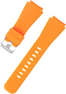 Rubber Silicone Watch Band Replacement Competible for SAMSUNG S3 Watch Band Optional Color
