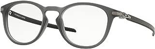 Oakley Men's Pitchman R Sunglasses,OS,Carbon Satin Grey Smoke/Black