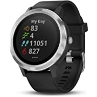 Garmin Vívoactive 3, GPS Smartwatch with Contactless Payments and Built-In Sports APPS, Black...