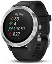 Garmin Vivoactive 3 GPS Smart Watch with Built-In Sports Apps and Wrist Heart Rate - with Stainless Hardware