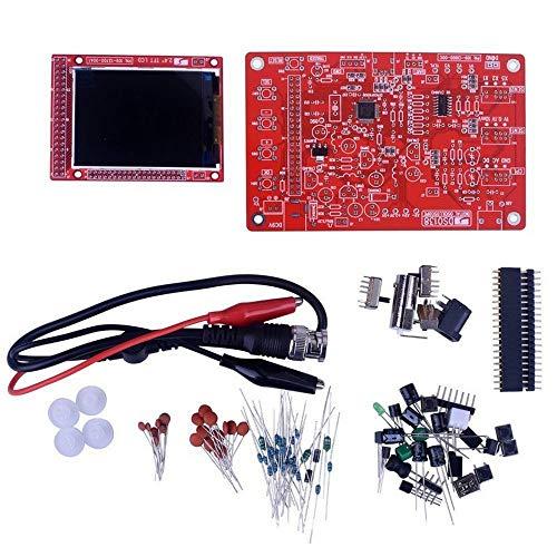El kit de osciloscopio digital Hengyuanyi Dso138 adopta el procesador Arm Cortex-m3 y con una pantalla Tft de 2.4 pulgadas