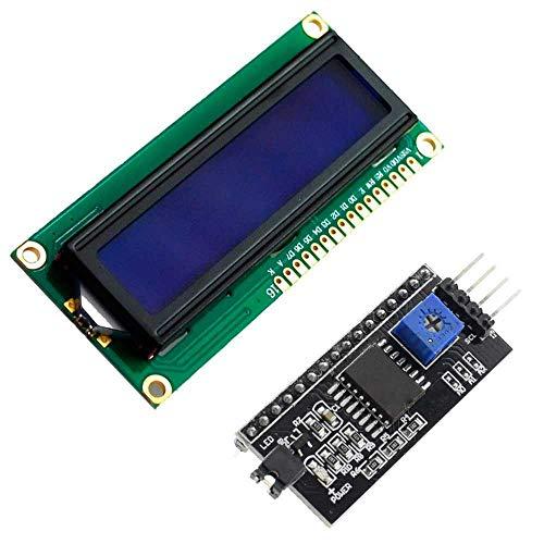 Interfaz de serie IIC I2C TWI SPI puerto de placa Arduino 1602 2004 LCD1602 Adaptador UK