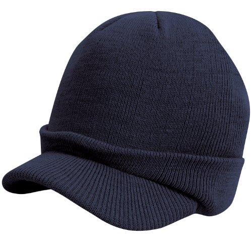 Result - Casquette d'hiver Esco Army - Unisexe (Taille unique) (Bleu marine)