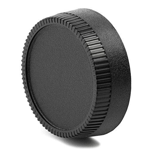 CELLONIC Tapa Objetivo Trasera Compatible con Nikon F/Nikkor/Compatible con Zeiss/Compatible con wallimex...