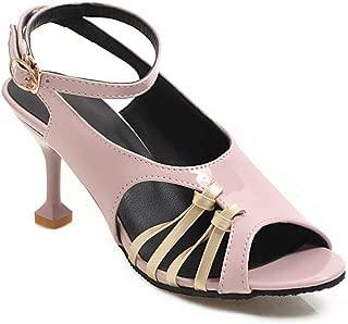 BalaMasa Womens APL12425 Pu Heeled Sandals