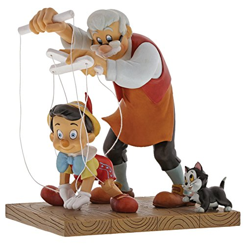 Enchanting Disney Little Wooden Head - Pinocchio Figurine
