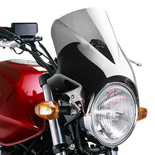 Cockpitverkleidung Puig Windy rauchgrau für Honda CB Seven Fifty/ 500/1000/ 1300, CB-1, CBF 250/500/ 600, Hornet 600/900, NTV 650 Revere, VTR 250, X4 mit ABE