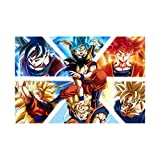 Goku Dragon Ball Super Canvas Art Poster and Wall Art Picture Print Modern Family Bedroom Decor Posters