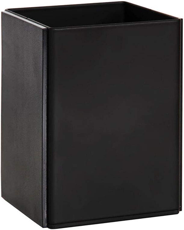 JU FU Mode Metall Stifthalter Multifunktionsspeicher Multifunktionsspeicher Multifunktionsspeicher Stifthalter klassischen Bürobedarf schwarz 10,5 × 8,1 × 7,7 cm B07MW66SXD   Neues Design  974a57