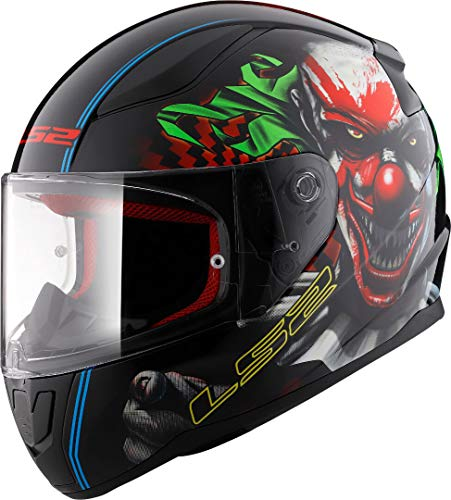 LS2, casco integrale da moto rapid happy dreams, m, multicolore