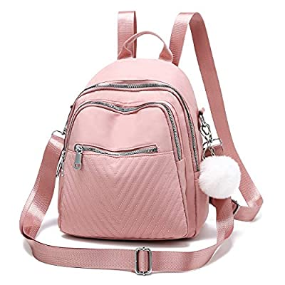 Fashion Women Backpack Purse Nylon Lightweight ...