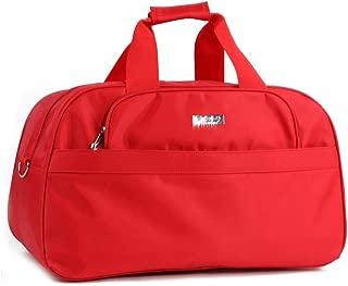 Duffel Bags With Shoulder Strap Holdall Handbag (Color : Orange, Size : L56.5×W22×H32cm)