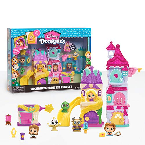 Disney Doorables Enchanted Princess Playset, Amazon Exclusive, by Just Play