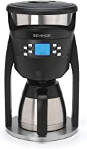 Behmor 5393 Brazen Coffee Maker, 8 Cups, Stainless Steel