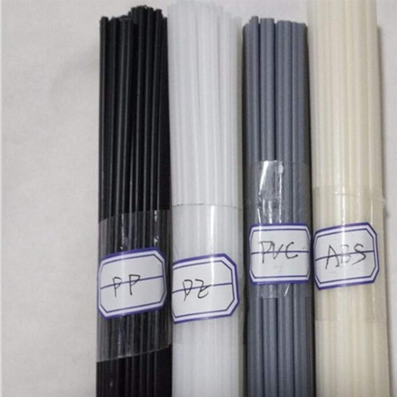 フェザー印象的消費する20PCSプラスチック溶接棒ベージュABS /黒PP/グレーPVC /白PE溶接棒プラスチック溶接機50cm / pc