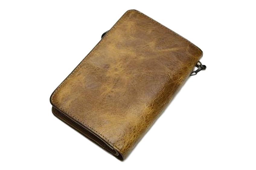 暴行早める対応するSOLATINA (ソラチナ)馬革 財布 キャメル sw-38151-cam