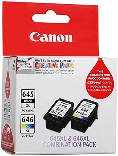 Canon PG645XLCL646XLCP Combo Pack XL (1 x PG645XL & 1 x CL646XL)