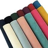 Zaione 13 Stück 21 cm x 30 cm verschiedene Farben weiches