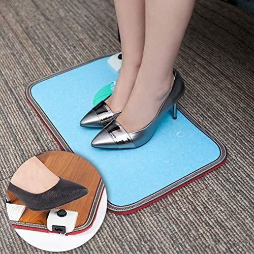 JTYX BLANKETS warme voeten, verwarmde voeten thuis, verstelbaar op de voet, 50 x 30 cm
