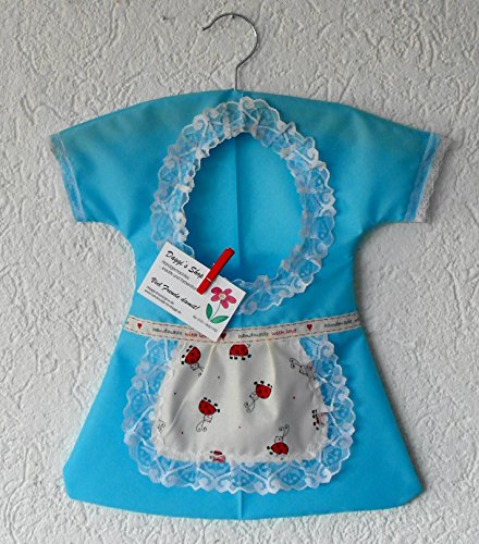 Klammerkleidchen, Wäscheklammerbeutel, Klammerkleid, Clothespin Bag