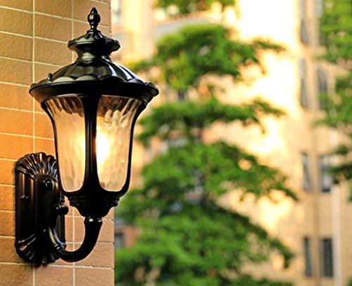 Lampe murale applique Applique - Moderne Minimaliste Extérieure Étanche Applique Murale Villa Cour Jardin Balcon Salon Mur Lampe Allée Couloir Mur Lumière (Couleur : A)