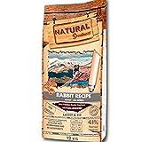 Natural Greatness - Pienso Natural de Conejo para Perros Sin Cereales Hipoalergénico Saco de 12 Kg | ANIMALUJOS