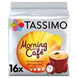 Tassimo Morning Cafe <span class='highlight'>Coffee</span> <span class='highlight'>Pods</span> (Pack of 5, 80 <span class='highlight'>pods</span> in total, 80 servings)