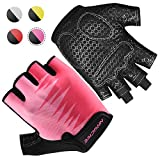 Bridawn Weight Lifting Workout Gloves Men Women Gym Gloves with Full Palm...