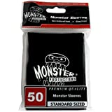 Sleeves - Monster Protector Sleeves - Standard Size Gloss with Monster Logo
