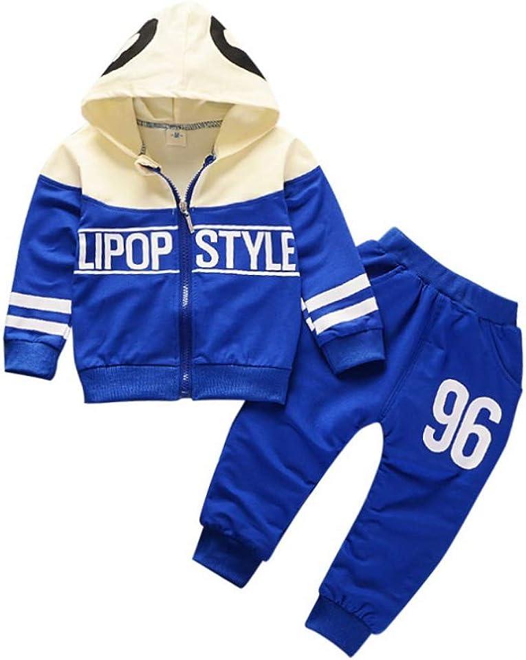 Hoodie 2er Set mit Hose 6-12 Monate 1-4 Jahre alt Body Overall Kleidung