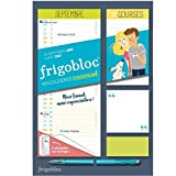 Mini Frigobloc mensuel 2021 - Calendrier d'orga. familiale / 12 mois (sept. 2020 - août. 2021)