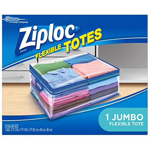 Ziploc Flexible Totes, Jumbo, 1 ct