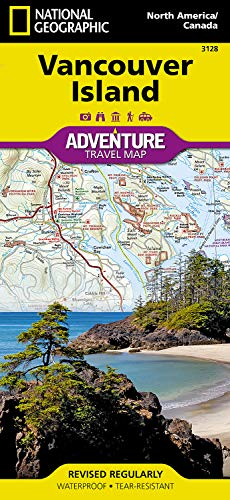 Vancouver Island (National Geographic Adventure Map, Band 3128)