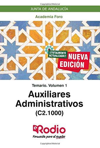 Auxiliares Administrativos Junta de Andalucía (C2.1000)