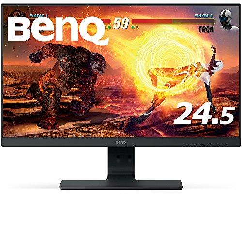 BenQ ゲーミングモニター ディスプレイ GL2580HM 24.5インチ/フルHD/TN/ウルトラスリムベゼル/HDMI,VGA,DVI...