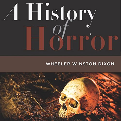A History of Horror audiobook cover art