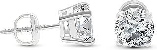 Best 1 carat cz earrings Reviews