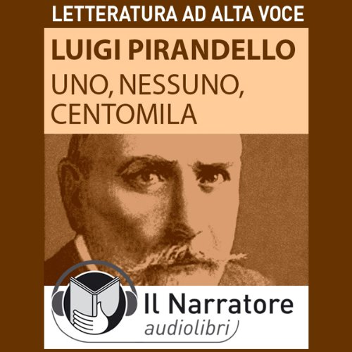 Uno, nessuno e centomila audiobook cover art