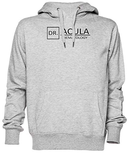 Dr Acula Gris Jersey Sudadera con Capucha Unisexo Hombre Mujer Tamaño XS Grey Unisex Hoodie Size XS