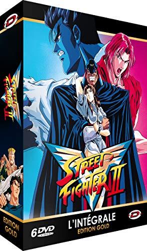 Street Fighter II V-Intégrale-Edition Gold (6 DVD + Livret)