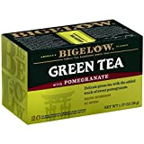 Bigelow Tea Green with Pomegranate 20 Bags (Pack of 3)