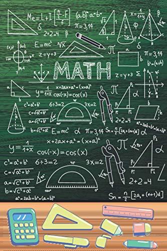 MATH: XXL MATHE NOTIZBUCH 6:9 - 150 punktierte Seiten - für Mathematik Übungsaufgaben, Notizen, Nebenrechnungen, Skizzen, Hausaufgaben & ... für die Schule & Uni Aufgaben rechnen