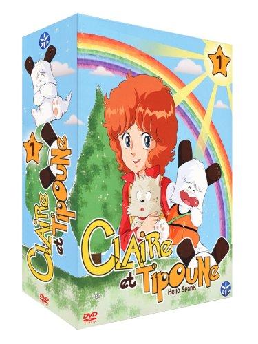 Claire et Tipoune-Partie 1-Coffret 4 DVD [Édition VF]
