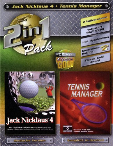 2 in 1 Jack Nicklaus 4 + Tennis Manager