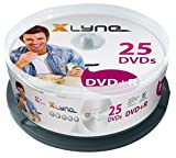 XLYNE DVD+R Rohlinge (4,7 GB, 16x Speed, 25er Spindel, optical media)