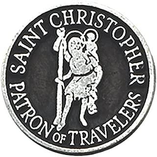 travel angel charm